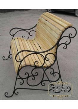 Скамейка со спинкой 1