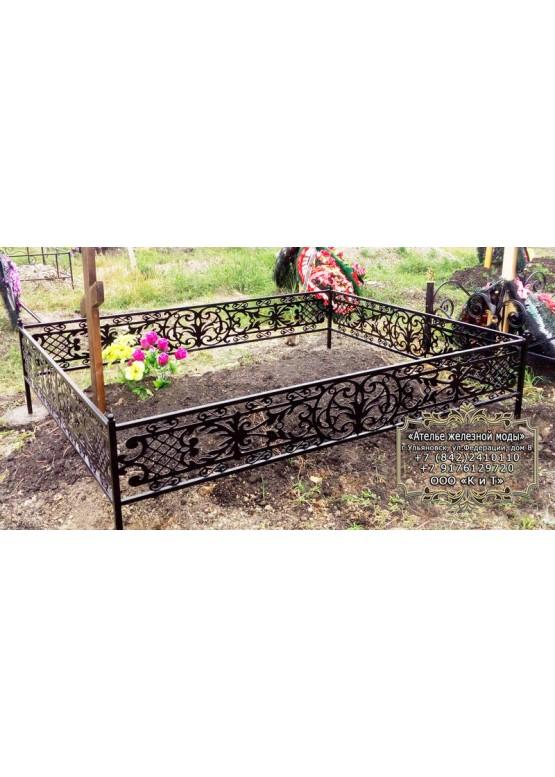 Ритуальная ограда 12