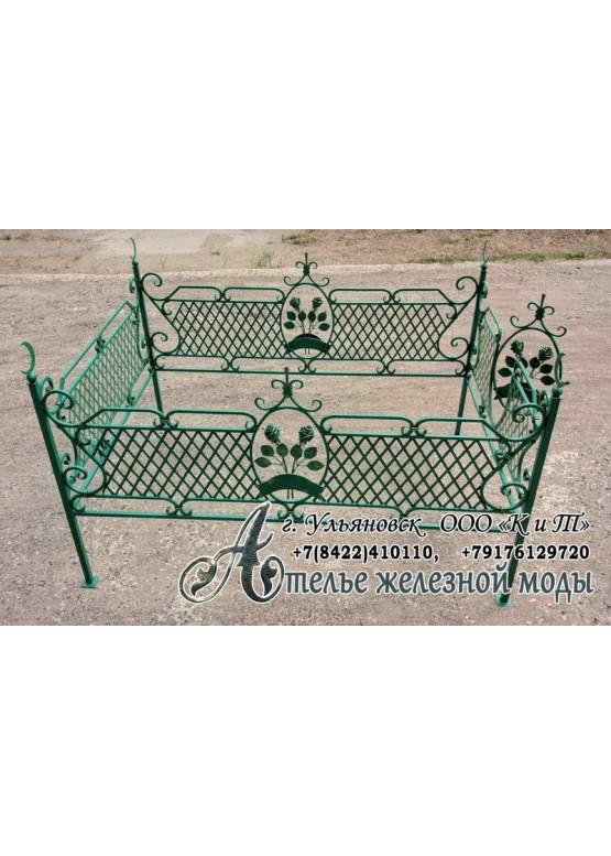 Оградка на кладбище мусульманская