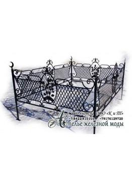 Ограда ритуальная 18